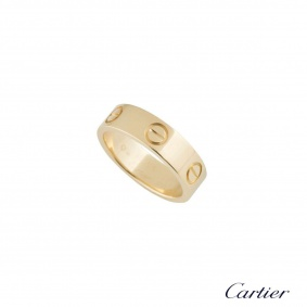 Cartier Yellow Gold Love Ring Size 58 B4084600